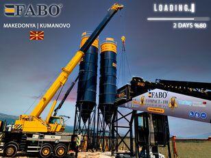 FABO MIX COMPACT-110 CONCRETE PLANT | CONVEYOR TYPE planta de hormigón nueva
