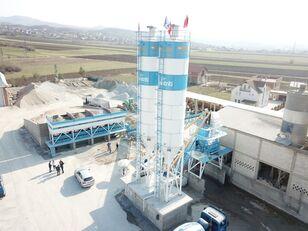 FABO POWERMIX-100 STATIONARY CONCRETE BATCHING PLANT planta de hormigón nueva