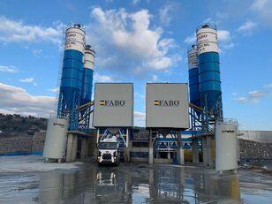 FABO POWERMIX-200 STATIONARY CONCRETE BATCHING PLANT planta de hormigón nueva