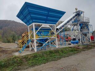 PROMAX Compact Concrete Batching Plant C60-SNG-PLUS (60m3/h) planta de hormigón nueva