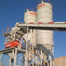 SEMIX Stationary 130 STATIONARY CONCRETE BATCHING PLANTS 130m³/h planta de hormigón nueva