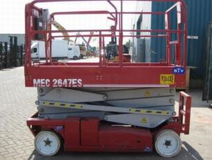 MEC 2647 plataforma de tijera