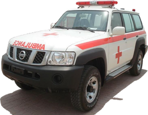 NISSAN Patrol 4.0 XE AT ambulancia nueva